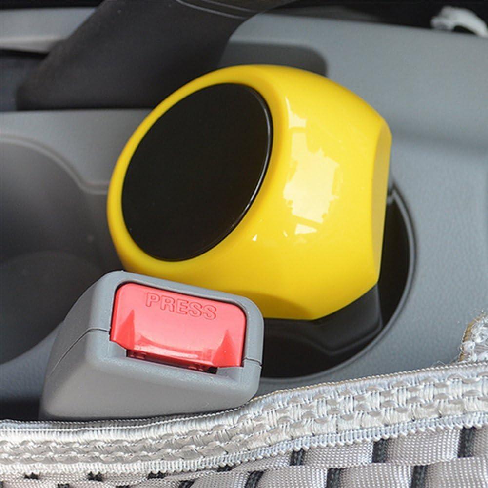 ABS Kentop auto pattumiera con coperchio portata Bar Casa Ufficio Pattumiera rifiuti Magazzinaggio Blu 15 * 9 * 6CM