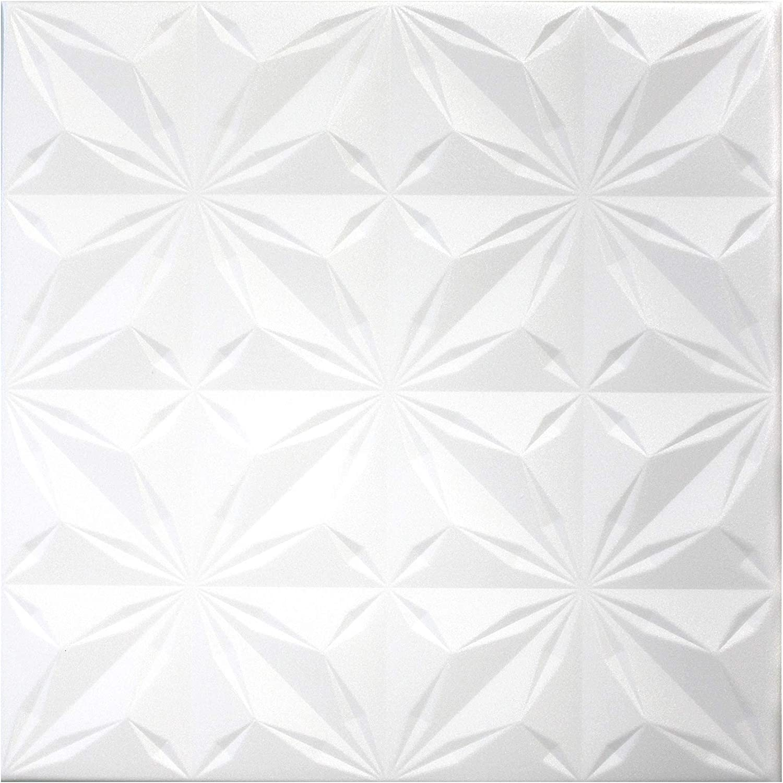 20 qm Deckenplatten Styroporplatten Decke Stuck  Dekor Platten 50x50cm Nr.63