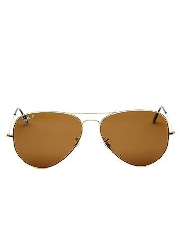 ray ban sunglasses aviator rb3025  ray ban men's polarized aviator rb3025 002/58 62 black aviator sunglasses