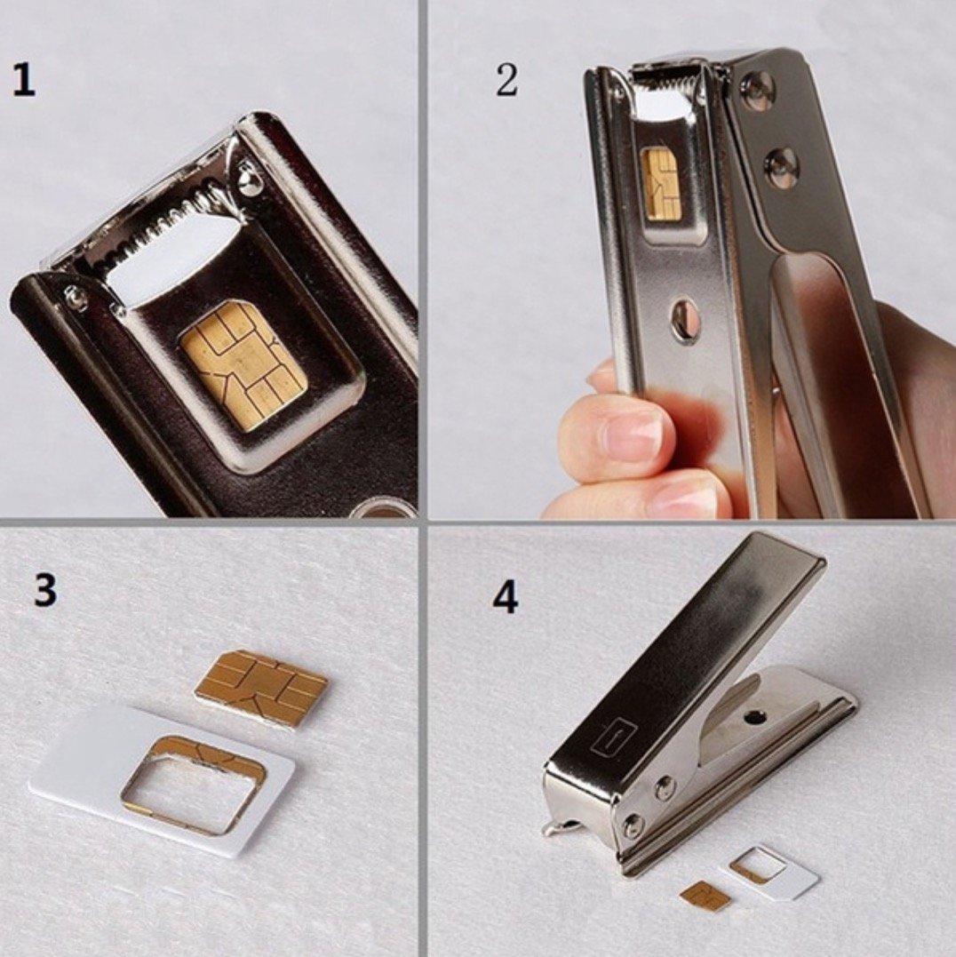 Amazon.com: Marca Nueva cortador de tarjetas Nano SIM para ...