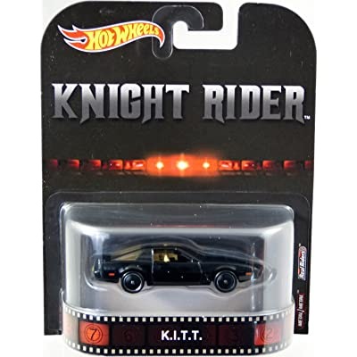 Hot Wheels 2020 Retro Entertainment - Knight Rider K.I.T.T.: Toys & Games