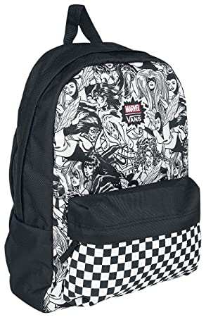 2928bb8cbb842c Vans Marvel - Women Backpack Black-White  Amazon.co.uk  Luggage