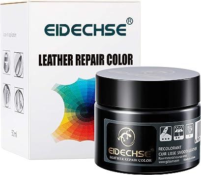 Bálsamo Recolorante de Cuero, Crema Reparadora de Cuero para Limpiador de Cuero para Proteger y Restaurar Adecuado para ser utilizado en Sofá de Piel, ...