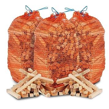 Leña de madera de calidad ideal para hogueras, estufas, barbacoas