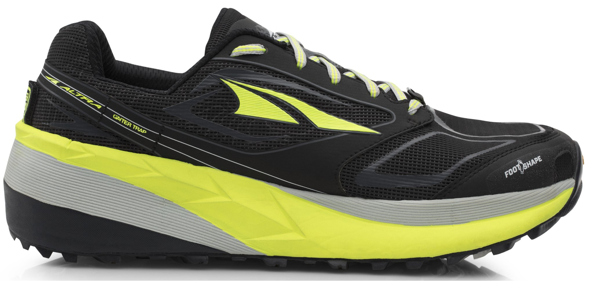 Altra AFM1859F Men's Olympus 3 Running Shoe, Black/Yellow - 10.5 D(M) US by Altra (Image #1)