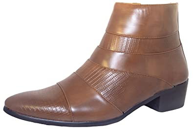 7644542427dc Classique , Herren Chelsea Boots, Braun - Brown Cuban - Größe  38 EU ...