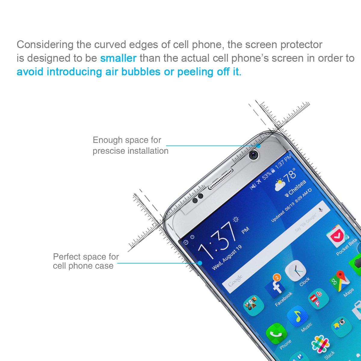 ELZO Protector de Pantalla para Samsung Galaxy S7 5.1