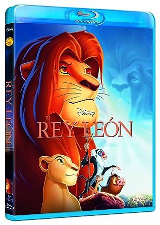 El Rey León [España] [Blu-ray]: Amazon.es: Personajes animados ...