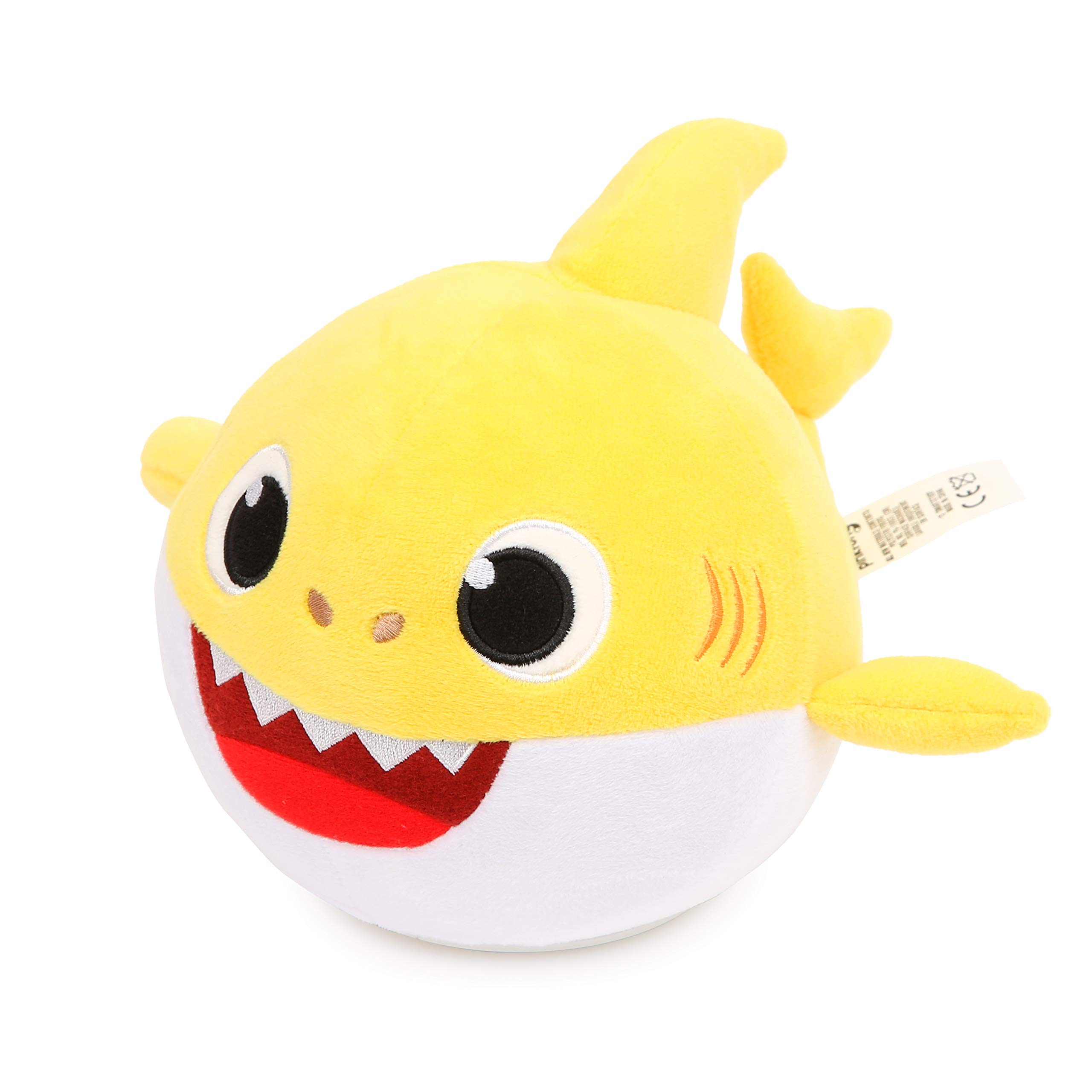 Pinkfong Baby Shark Official Spinning and Singing Interactive Plush Toy by Pinkfong