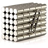 """3//4/""""dia x 4/"""" long Alnico 5 round bar  precision ground axailly magnetized 1 each"""