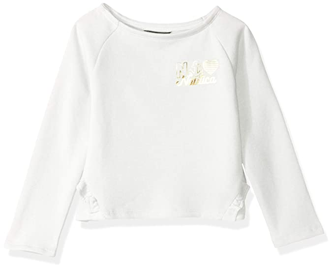 Nautica Girls Long Sleeve Fashion Sweaters