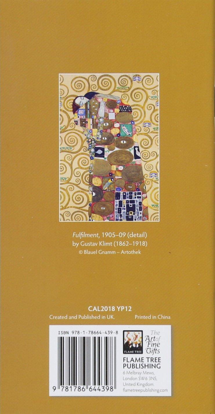 Gustav Klimt (Planner 2018): Flame Tree Studios, Gustav Klimt:  9781786644398: Amazon.com: Books