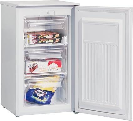 SEVERIN GS 8856, Mini-Congelador, 60 L, 88 kWh/año, Blanco: Amazon ...