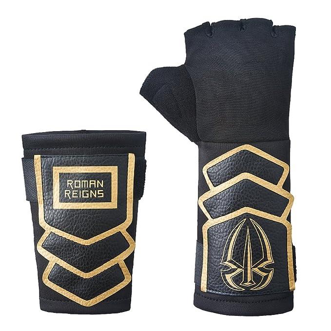 shop ultimo stile la vendita di scarpe WWE Oro Ufficiale Roman Reigns Oro Replica Guanti Set ...