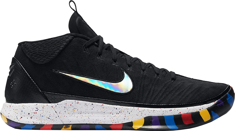 sneakers for cheap bb38e 6a32a Amazon.com   Nike Men s Kobe A.D. 1 Basketball Shoes (12, Black Multi)    Basketball