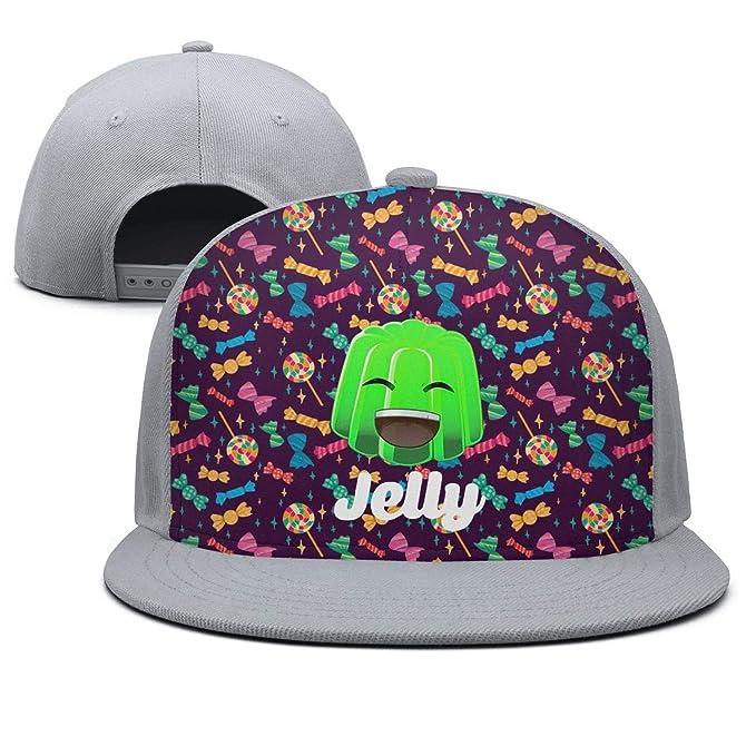 Amazon.com: Ddsadss Jelly-Cool-YT- Trucker Hats for Men ...