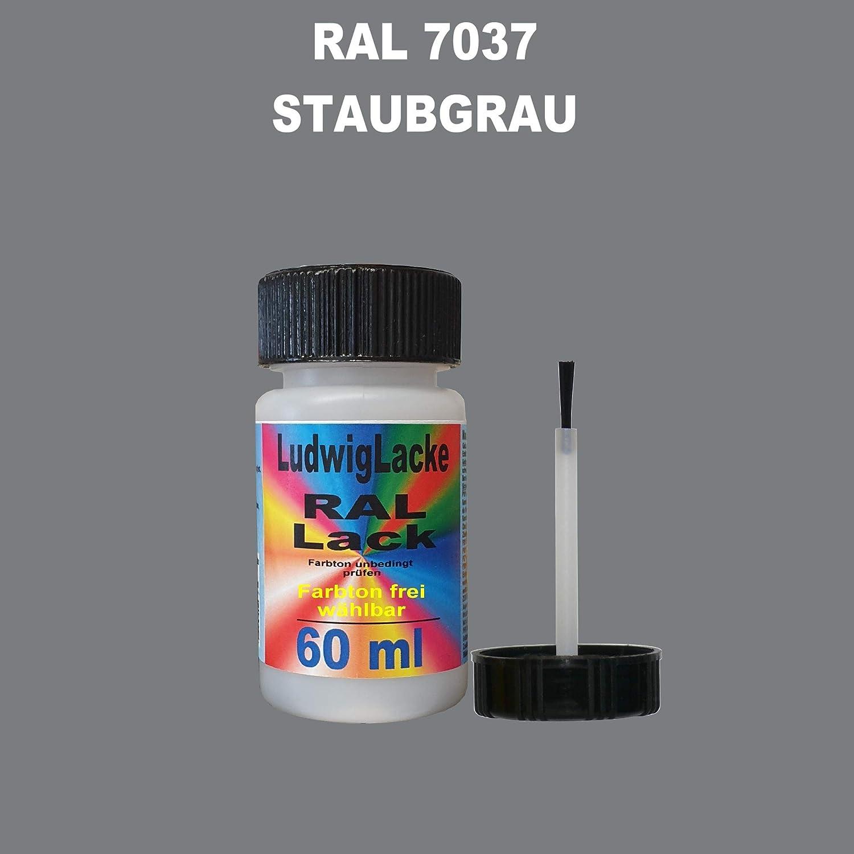 60 Ml Lackstift Mit Pinsel Im Farbton Ral 7037 Staubgrau Auto