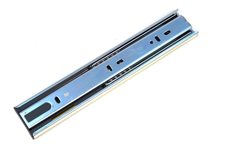 GTV Versalite Soft-Close Vollauszug Teleskopschiene Schubladenschiene Schubladenschienen 45-89.5cm