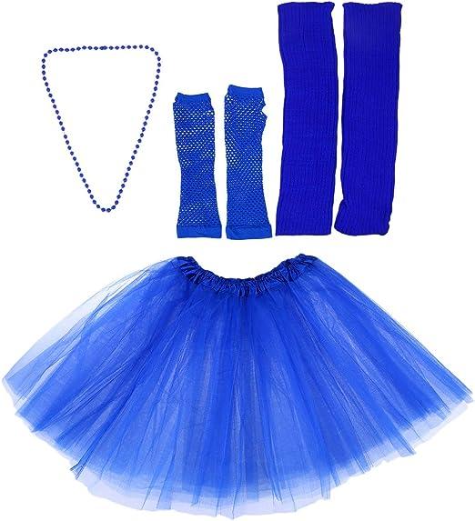 Toyvian Disfraz de Tul de los años 80 Conjuntos de Faldas para ...
