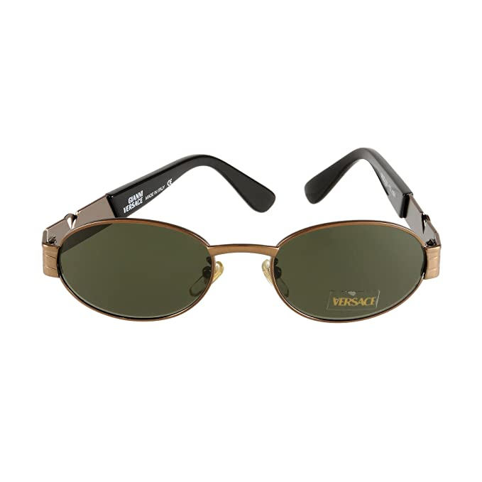 ac421ca1785 Vintage Gianni Versace Sunglasses Mod. S22 Col. 53M 50-20-135 Made in  Italy  Amazon.ca  Clothing   Accessories