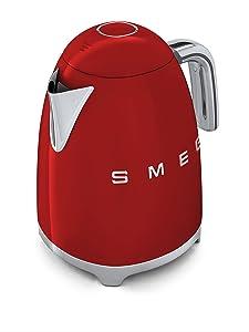 Smeg KLF01, bollitore elettrico da 1,7 litri e 2400 watt in varie colorazioni