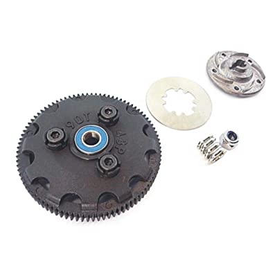 Traxxas Slash 1/10 2wd 58034-2 Complete 90T Tooth Spur Gear Set Slipper Clutch: Toys & Games