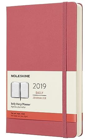 Amazon.com: Moleskine 2019 - Calendario diario de 12 meses ...