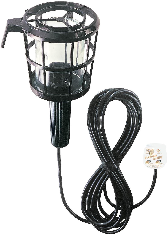 Brennenstuhl 1176013 Safety Inspection Lamp 5m H05VV-F 2x0, 75 60W E27