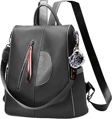 Women/'s Ladies Backpack Shoulder Bag Rucksack School Travel Anti-Theft Satchel