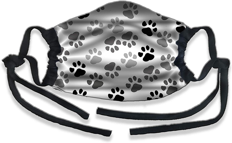 Dog Paws Protective Face Masks, Unisex, Dust Mask, Reusable Mask