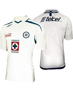 Cruz Azul Jersey Away, White Color, Authentic Jersey, Camiseta 2009