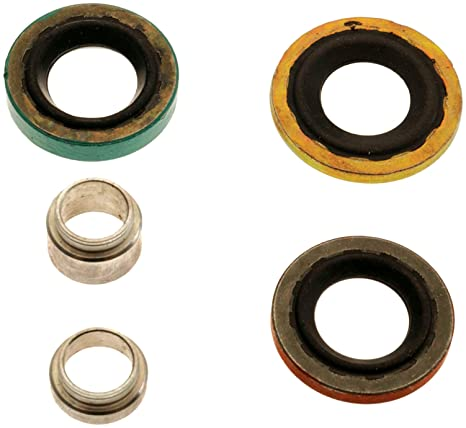 ACDelco 15 – 20058 gm Original Equipment aire acondicionado colector Sello Kit con compresor y juntas
