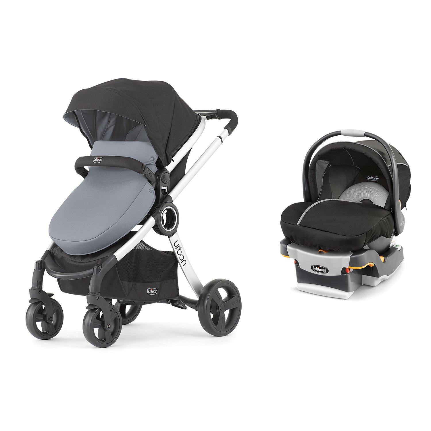 Amazon Chicco 6 in 1 Urban Modular Stroller Infant Car Seat and Base Travel System Baby