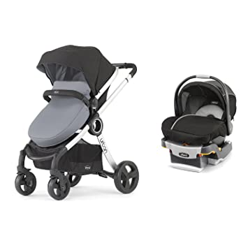 Chicco 6 In 1 Urban Modular Stroller Infant Car Seat And Base Travel