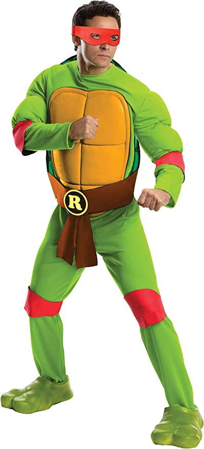 Rubies Costume Mens Teenage Mutant Ninja Turtles Deluxe Adult Muscle