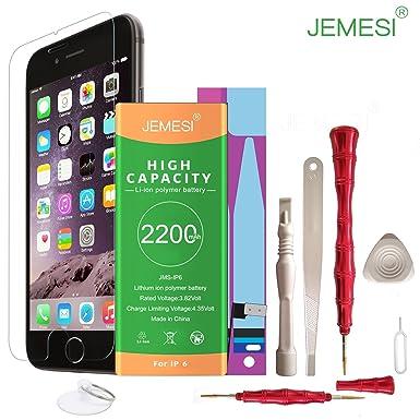 for iP6-2200 mAH li-ion JEMESI battery with Repair tool Kits