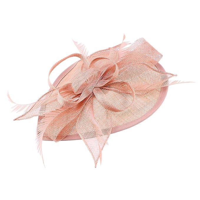 Sombrero de fieltro con plumas parab odas y fiestas. Disponible en varios colores.