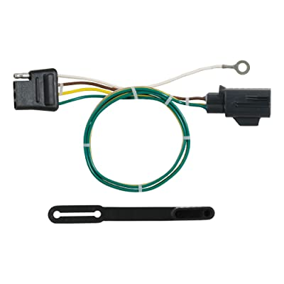 CURT 56293 Vehicle-Side Custom 4-Pin Trailer Wiring Harness for Select Land Rover Range Rover, Sport: Automotive [5Bkhe2005008]