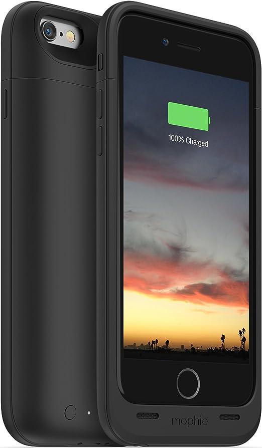 Mophie Juice Pack Air - Carcasa para Apple iPhone 6/6s (con batería de 2750 mAh), Color Negro: Amazon.es: Electrónica
