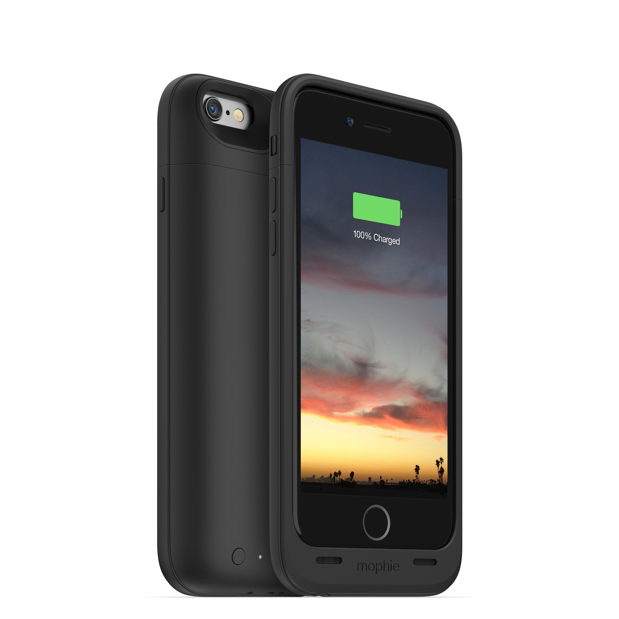 mophie juice pack air - Slim Protective Mobile Battery Pack Case for iPhone 6/6s - Black by mophie (Image #3)
