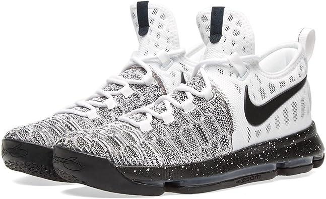 Zapatillas de baloncesto Nike Zoom KD 9 Oreo para hombre ...