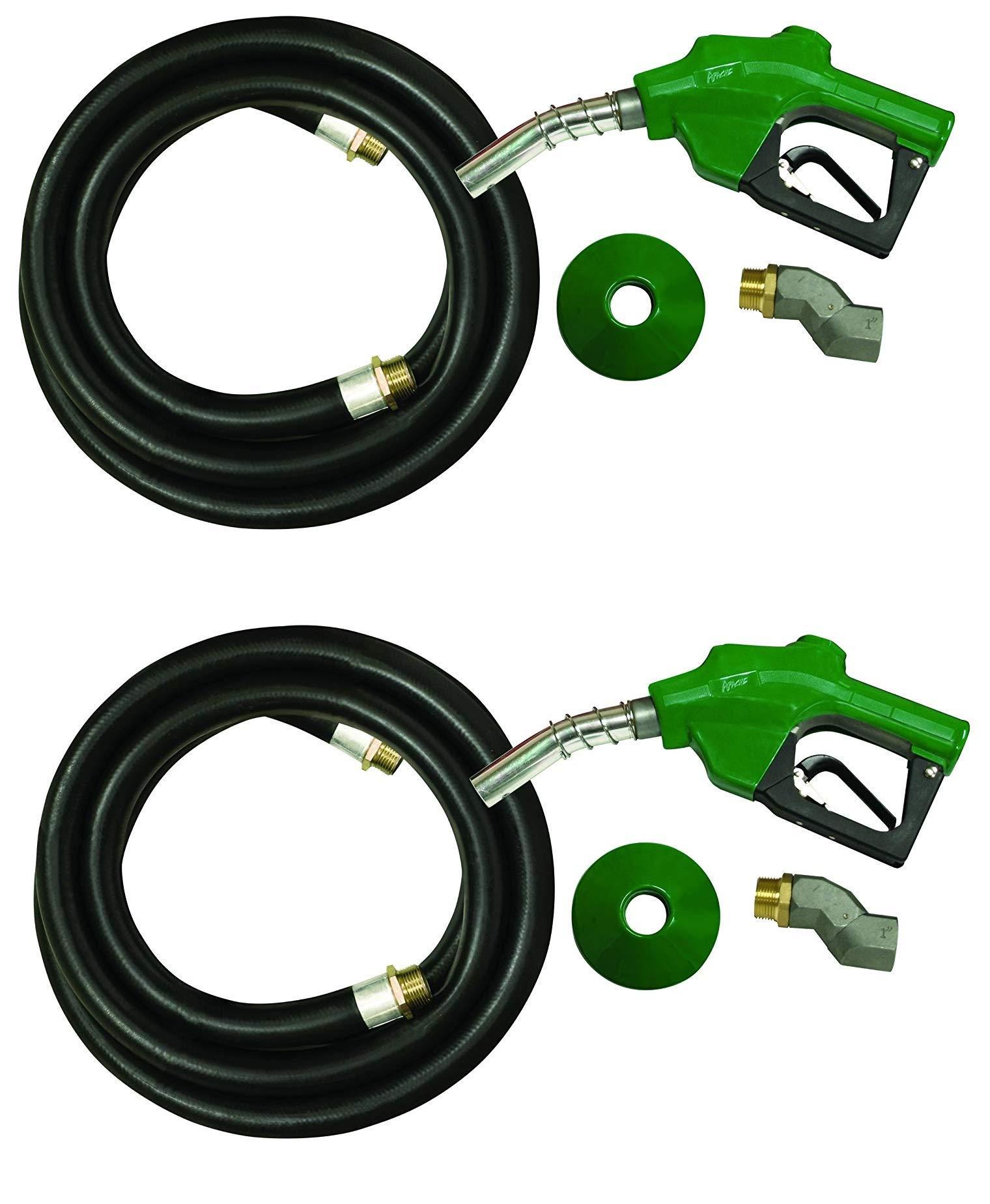 Apache 99000277 1'' Diesel Automatic Fuel Nozzle Kit (2-Pack)