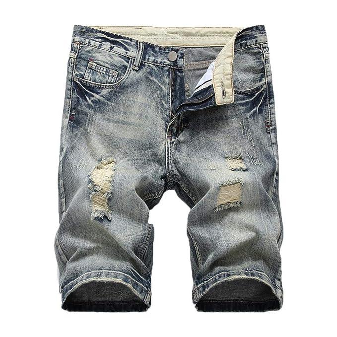 ACEBABY Pantalones Cortos de Verano para Hombre Pantalones ...
