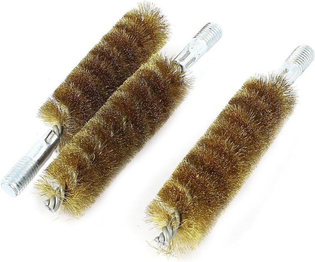 15cm long 40mm Dia acier inox Brosse nettoyage Lavage Tube 5pcs