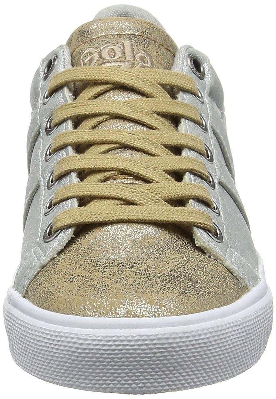 Gola Orchid Super Metallic, Sneaker Donna, Argento (Silver/Gold Jy), 41 EU