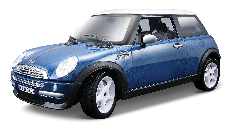 Mini Cooper Colors >> Amazon Com Burago 1 24 Mini Cooper Colors Vary Toys Games