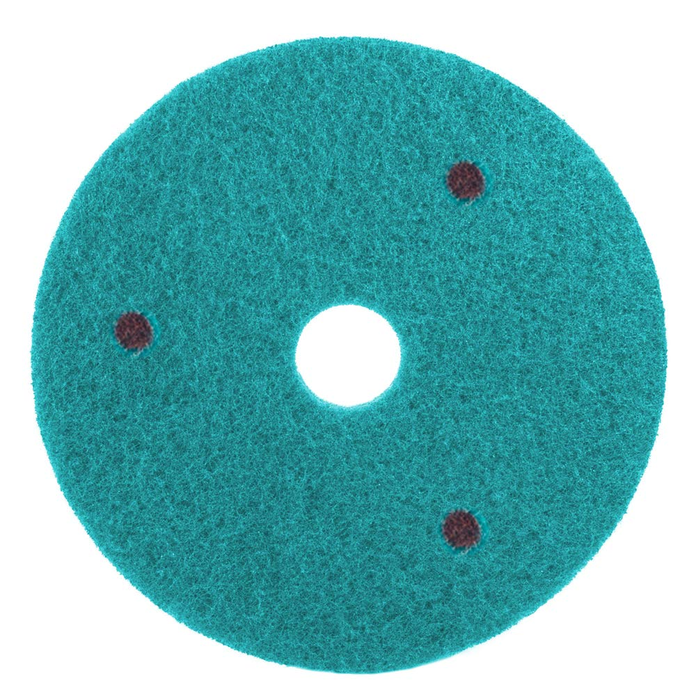 Floor Buffing Pads for Concrete and Natural Stone - 17 Inch Buffer Pad - Diamond Pad for Concrete - 800 Grit - Single by Diamond Productions