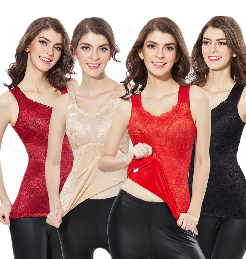 YeeHoo Women's Plus Size Fit for Me Thicker Lined Thermal Underwear
