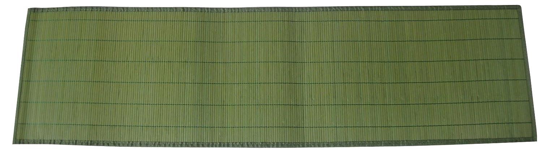 Zeller 26783 Tischlaufer Bamboo 33 X 120 Cm Grun Amazon De Kuche