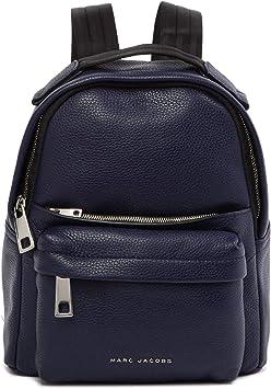 Marc Jacobs Varsity Pack Petit sac à dos en cuir Indigo